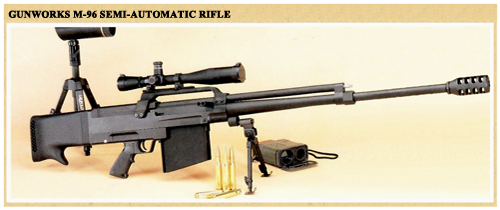M-96 Semi-Automatic Rifle: Click image to view Brochure
